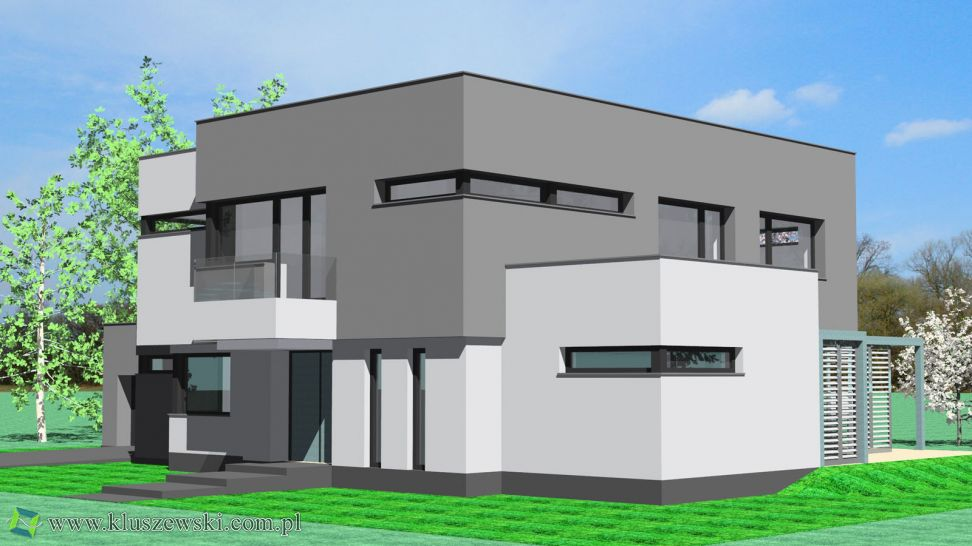 projekt indywidualny domu w Kobyłce