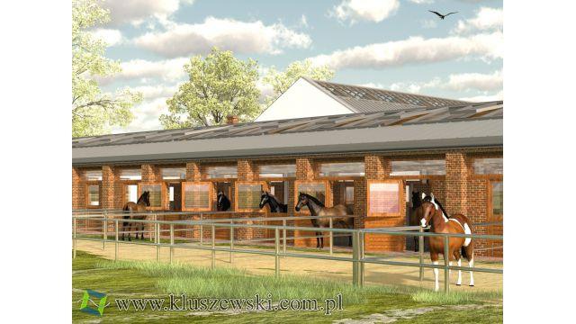Stajnie i ośrodki jeździeckie projektowane z myślą o Koniu