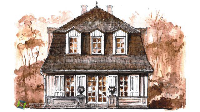 dwór, domek gościnny i park dworski w Hajownikach