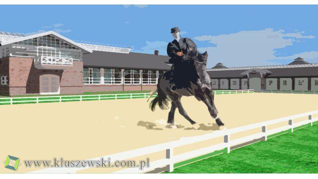 Ośrodek jeździecki dla Mistrzyni w ujeżdżeniu
