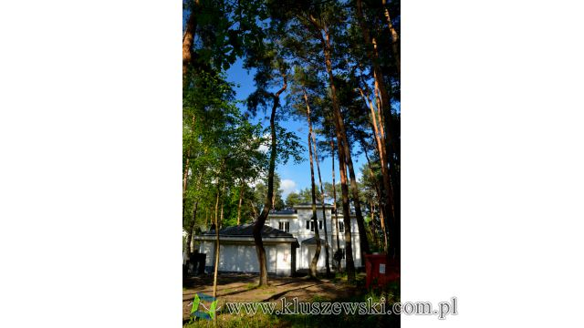 Willa w lesie otwockim